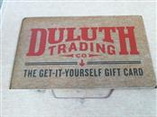 DULUTH TRADING CO. Gift Cards GIFT CARD